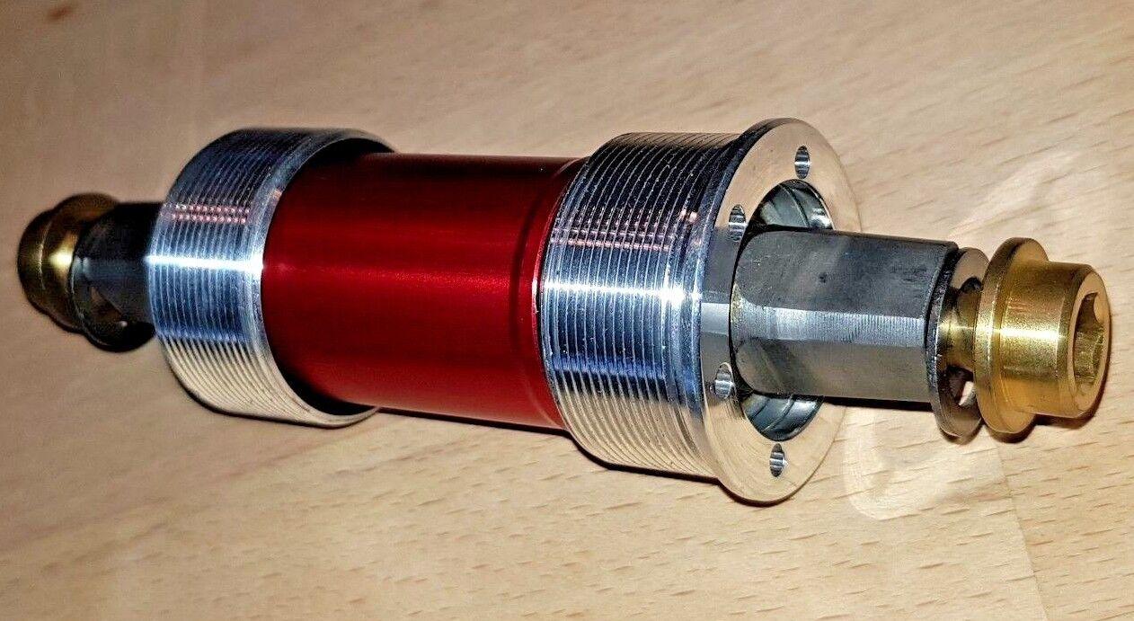 TUNE AC38 Titan Tretlager Vierkant Titanium Big Foot Kurbel Road MTB Innenlager