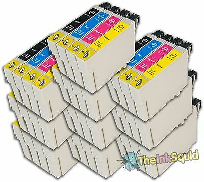 Genuine Epson T0715 Ink Cartridges for Stylus DX7450 T0711 T0712 T0713 T0714