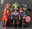 Action-Figure-Marvel-Legends-Avengers-Captain-America-Spider-Man-Iron-Man-Set thumbnail 14