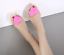 Womens-Beach-Sandals-Flat-Casual-Jelly-Heart-Transparency-Sweet-Heart-Shoes-HOT thumbnail 9