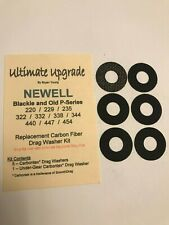 NEWELL ULTIMATE UPGRADE 6 STACK DRAG 220 235  P /& Blackie Series 229