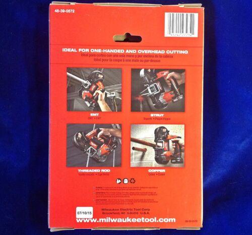 "4 Paks OF3 Milwaukee 48-39-0572 27/""x1//2 18 T Sub-Compact Bande Lame de scie 12 Lot"