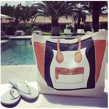 Hollywood star street snap-My other bag all-match bag canvas shoulder bag-Face
