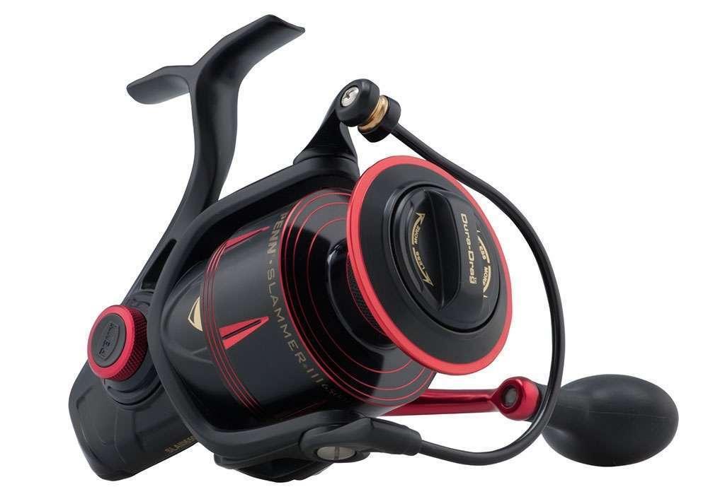NEW PENN Slammer  III  Spinning Reel Gear Ratio 6.2 1  SLAIII6500HS 1428932  the newest