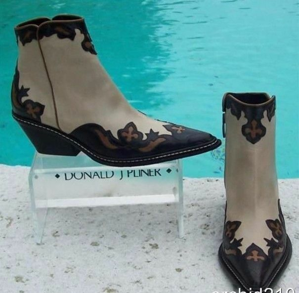 Donald Pliner Western Couture Boot Oil Skin Calf  Leder Boot Couture schuhe New Sz 6 NIB $625 6e22a3