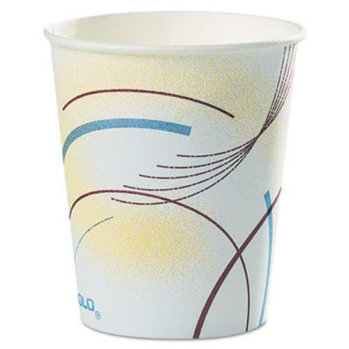 Dart 52MD-0062 Paper Water Cups, 5 Oz., Cold, Meridian Design, MultiCouleuruge,