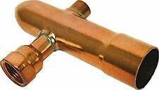 """1 1/2"""" End Cap Vent / Drain for Copper Manifolds"""