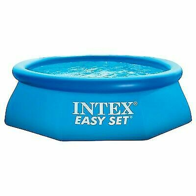Intex 28110E 8-Feet x 30-Inch Easy Set Inflatable Above Ground Swimming  Pool for sale online | eBay