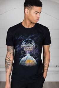 Official-Diamond-Head-Lightning-Unisex-T-Shirt-Canterbury-Borrowed-Time-Rock