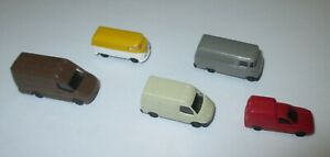 Rietze-Set-Kleintransporter-Transit-Iveco-Caddy-L319-Bully-5-x-1-160-Neuve