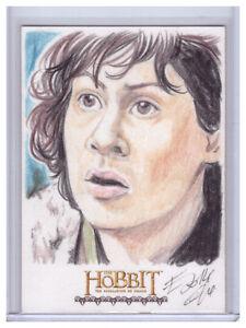 2015-The-Hobbit-Desolation-of-Smaug-ELFIE-LEBOULEUX-1-1-Original-SKETCH-ART-CARD