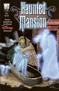 Haunted Mansion 3 Walt Disney Crab Scrambly Dan Vado SLG HTF 1st Print NM