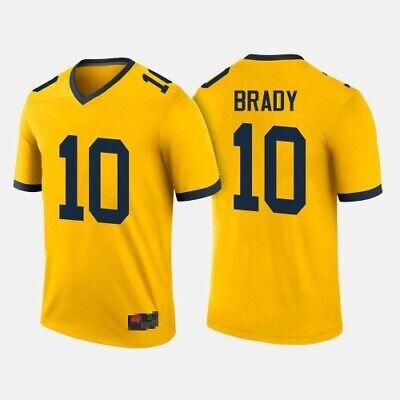 Michigan Wolverines 10 Tom Brady Jersey | eBay