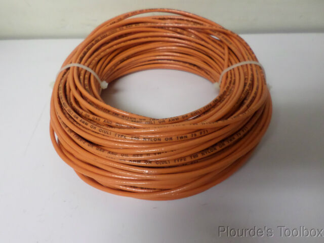 250/' FT MTW 6 AWG GAUGE 125/' BLACK /& 125/' RED STRANDED COPPER SGT PRIMARY WIRE