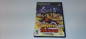 Mystic Heroes (Sony PlayStation 2, 2002) PS2 Black Label Video Game Complete CIB