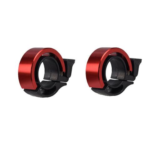 2//4x Slim Design Fahrradklingel Fahrradglocke Fahrrad MTB Roller Klingel Glocke