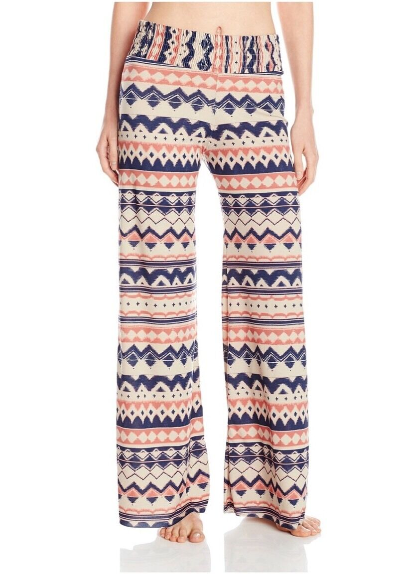 NWT  110 Women's ONZIE Palazzo Pants Yoga Athletic Pants Multicolor Small Medium