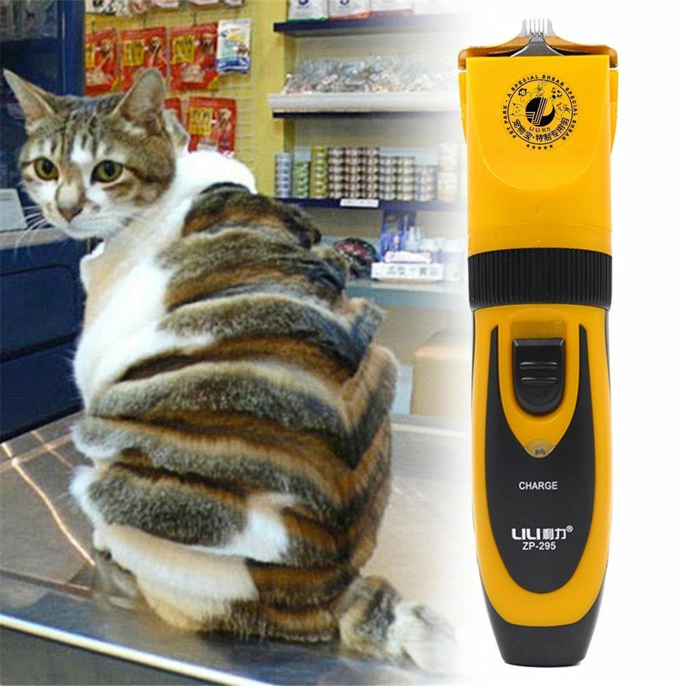 Dog Shaver Electric Hair Clipper Rechargeable Cat Hair Trimmer Grooming Cutter