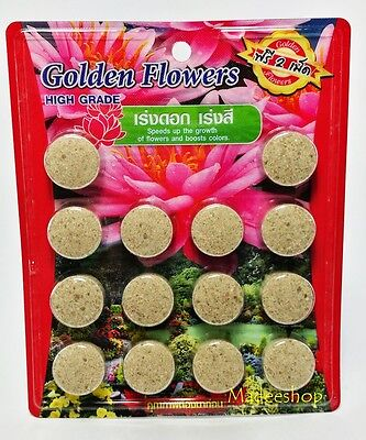 Aquarium Plant Lotus Flowers Fertilizer Aquatic Tabs Water Lily
