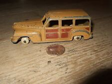 DINKY TOYS PLYMOUTH ESTATE WOODY CAR RARE VINTAGE DIECAST MODEL No 344 MECCANO