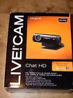 CREATIVE LABS 73VF070000000 Live! Cam Chat HD Webcam USB