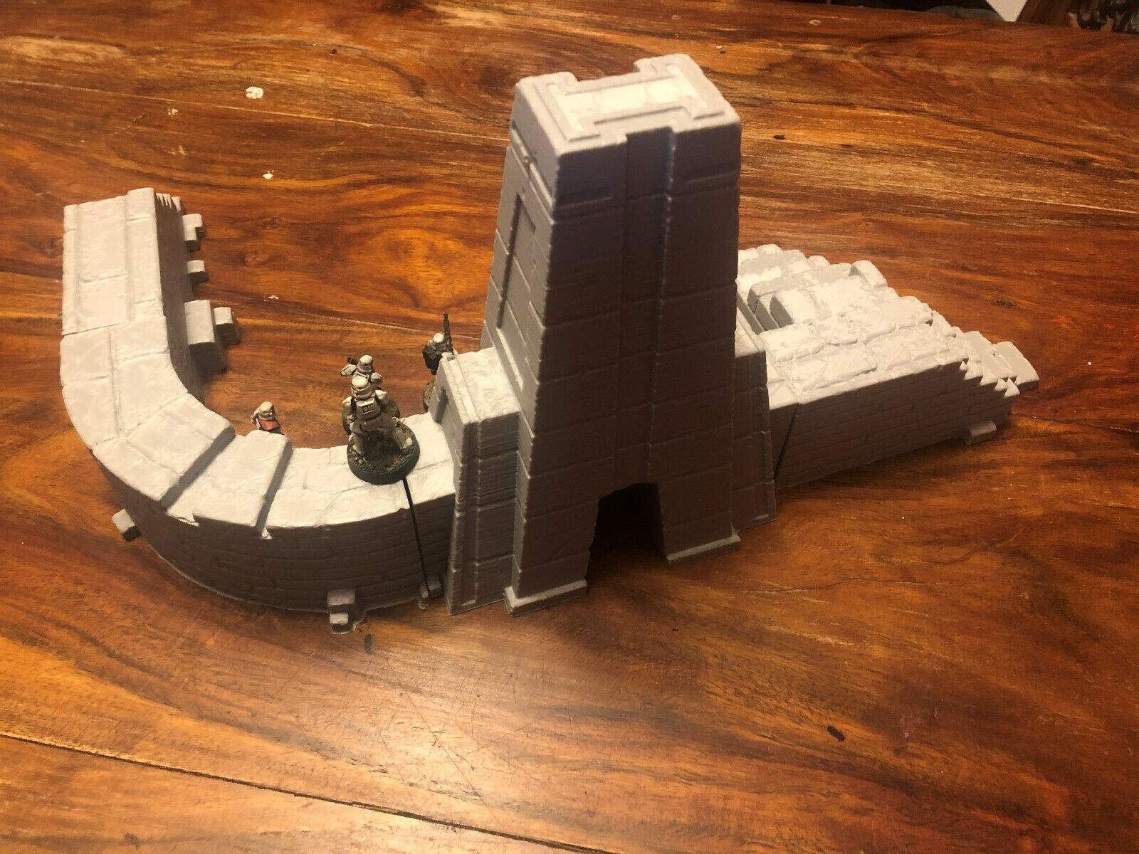 Star Wars Legion, Warhammer 40k, Age of Sigmar Terrain - Small Ruined Temple Set