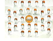 1971 HOUSTON ASTROS 8X10 TEAM PHOTO MORGAN RADER WYNN BASEBALL TEXAS USA HOF