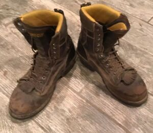 3253e92d5a5 Details about MEN'S CAROLINA LOGGER BOOTS CA7522 BIRCH COMP COMPOSITE TOE  EH SIZE SZ 10D