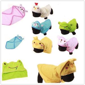 8cedbd5424 Pet Cat Dog Animal Cartoon Design Towel Bath Robe Dressing Gown ...
