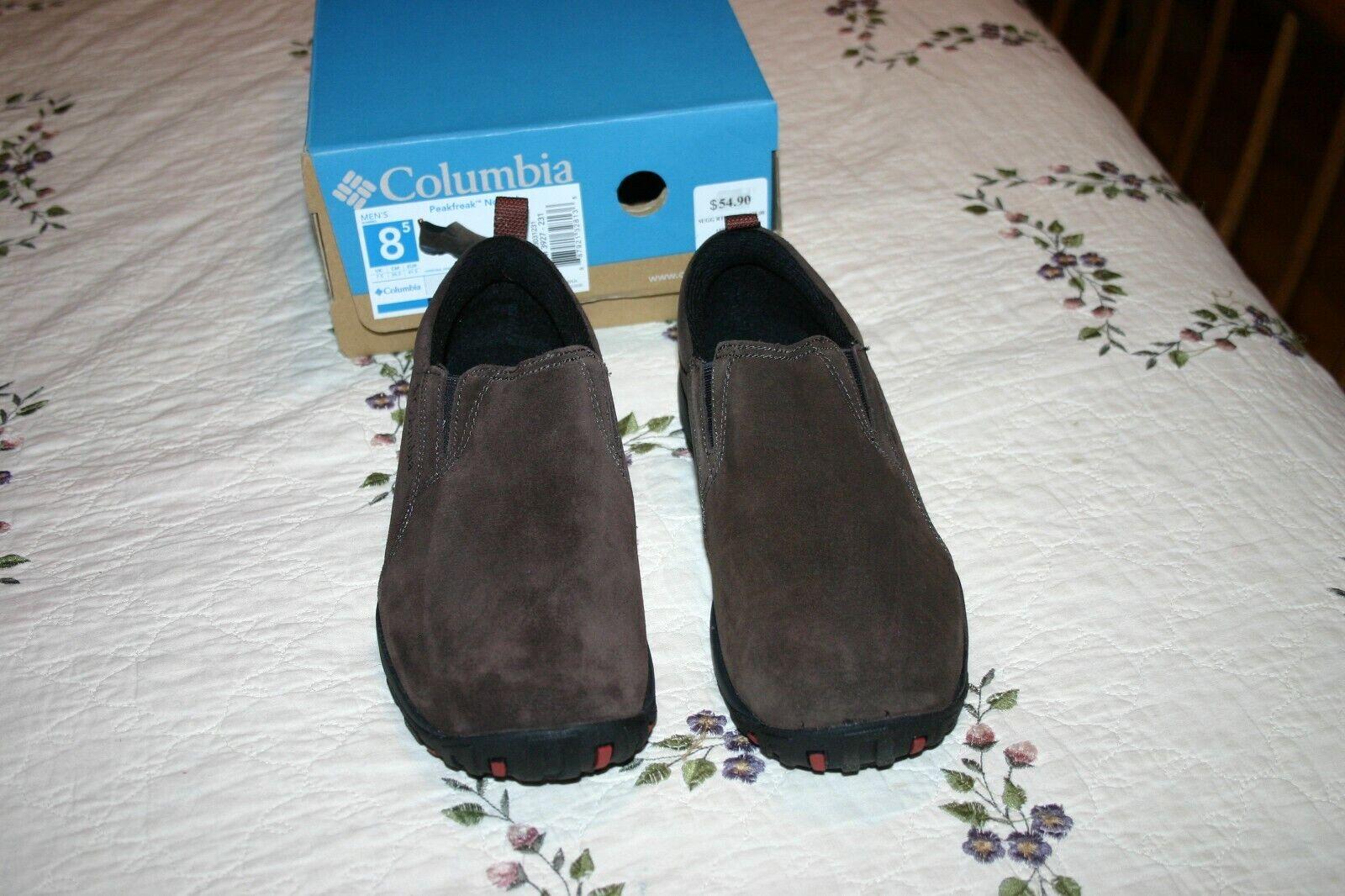 Columbia  Peakfreak Nomad Moc Hombre Marrón Trail senderismo zapatos talla 8.5  Entrega gratuita y rápida disponible.