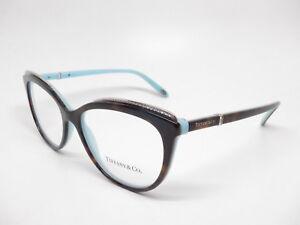 4258509b6a Tiffany   Co TF 2147-B 8134 Havana   Blue Eyeglasses 2147B Rx-able ...