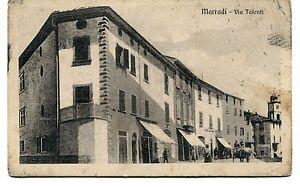 1913-Marradi-Via-Talenti-carrozza-Firenze-dest-Lucca-FP-B-N-ANIM-VG