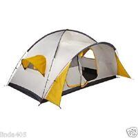 Swiss Gear Breeze 8 Person Two Room 2 Door Tent 7' X 8' X 14' Yellow White