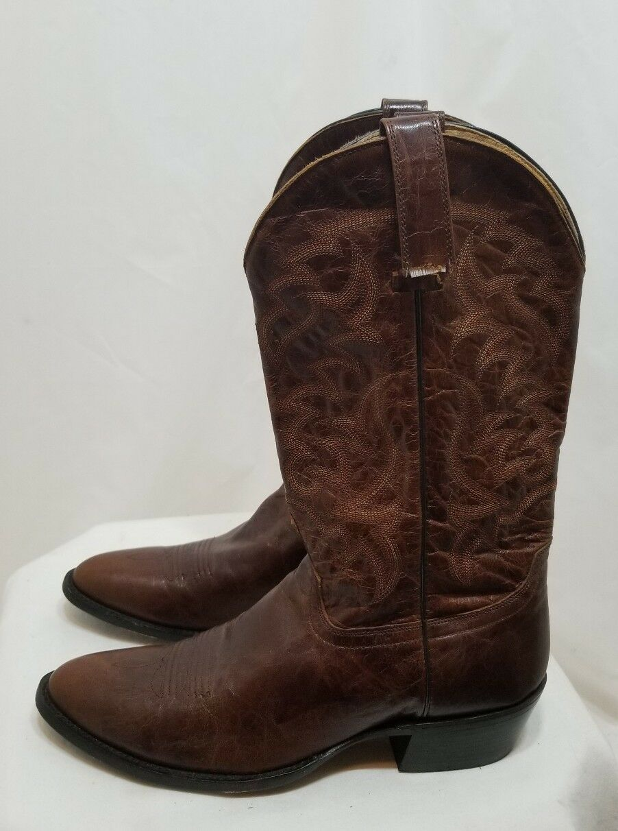 huge selection of b39c4 f9854 MOONSHINE SPIRIT BBM129 herren LEATHER WESTERN COWBOY Stiefel BBM129 SPIRIT  braun SZ 10 D 250 89c4a3