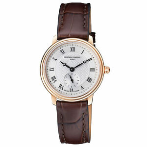 Frederique-Constant-Slimline-Quartz-Movement-Silver-Dial-Ladies-Watch-FC-235M1S4