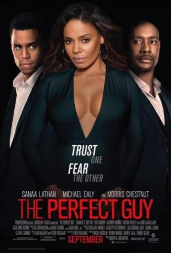 """THE PERFECT GUY 11.5/""""x17/"""" Original Promo Movie Poster 2015 MINT Michael Ealy"""