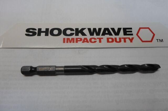 "MILWAUKEE SHOCKWAVE IMPACT DUTY HEX DRILL BIT 48-89-4414   5//16/"""