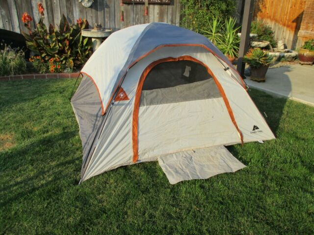 Ozark Trail 3 Person Camping Dome Tent - Gray for sale ...