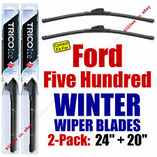 WINTER Wipers 2-Pack Premium Grade - fit 2005-2007 Ford Five Hundred - 35240/200