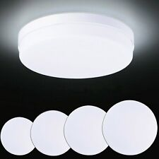 12w 50w Round Led Panel Light Surface Mount Ceiling Down Lights Bathroom Kitchen