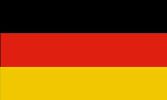 Fahne Flagge Deutschland 30 x 45 cm Bootsflagge Premiumqualität
