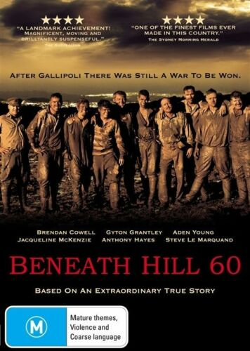 1 of 1 - Beneath Hill 60 - DVD BRAND NEW STILL SEALED FREE POST AUS REGION 4