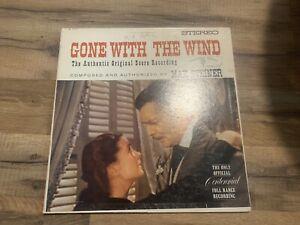 GONE-WITH-THE-WIND-LP-ORIGINAL-SCORE-MOVIE-SOUNDTRACK-W1322-WB-MAX-STEINER-MONO