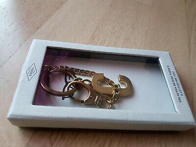 Diskret Schlüsselanhänger Damen Key Fossil Taschenanhänger Buchstabe C Ovp Neu Vintage Weich Und Rutschhemmend