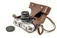 ▶  FED-3 35mm film Rangefinder Camera USSR ▶ Industar-61  lens ▶ Case