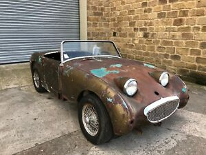 1960-Austin-Healey-Frogeye-Sprite-Barn-Find-Project-Classic-car