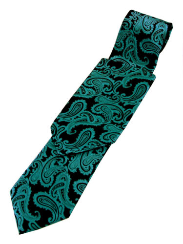 Tie /& Hankie Men/'s Emerald Paisley Tuxedo Vest FORMAL WEDDING PROM HOMECOMING