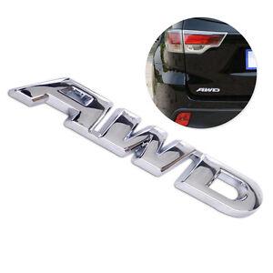 Zink-Alloy-Silber-AWD-Aufkleber-Metall-AWD-Emblem-Fuer-Auto-Mercedes-Hyundai-BMW