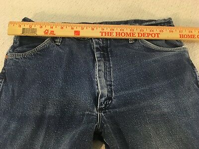 Mens Wrangler 947STR 36X32 Straight Leg Regular Fit Cotton Cowboy Cut Work Jeans | eBay