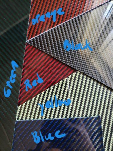 """12/""""x30/""""x1//32/"""" 2x2 Twill Carbon Fiber Fiberglass Sheet Panel Glossy One Side"""